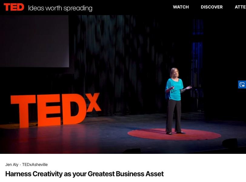 TED.com TEDx Talk Jen Aly